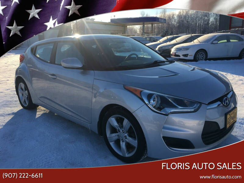 2013 Hyundai Veloster for sale at FLORIS AUTO SALES in Anchorage AK