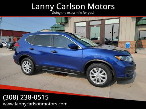 2017 Nissan Rogue for sale at Lanny Carlson Motors in Kearney NE