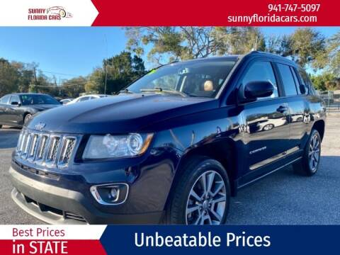 2014 Jeep Compass for sale at Sunny Florida Cars in Bradenton FL
