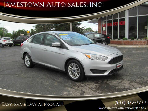 2017 Ford Focus for sale at Jamestown Auto Sales, Inc. in Xenia OH