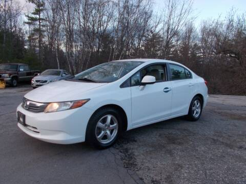 2012 Honda Civic for sale at Manchester Motorsports in Goffstown NH