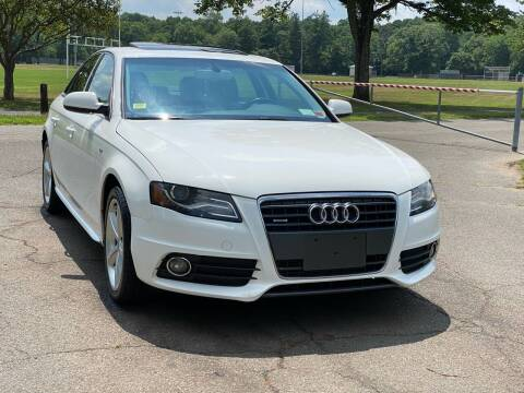 2012 Audi A4 for sale at Choice Motor Car in Plainville CT