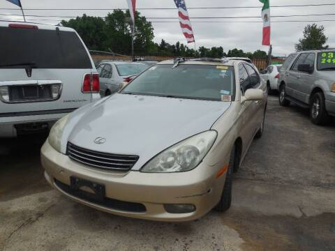 2004 Lexus ES 330 for sale at SCOTT HARRISON MOTOR CO in Houston TX