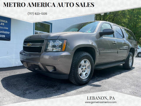 2014 Chevrolet Suburban for sale at METRO AMERICA AUTO SALES of Lebanon in Lebanon PA