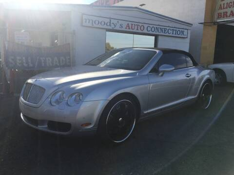 2009 Bentley Continental for sale at Moody's Auto Connection LLC in Henderson NV
