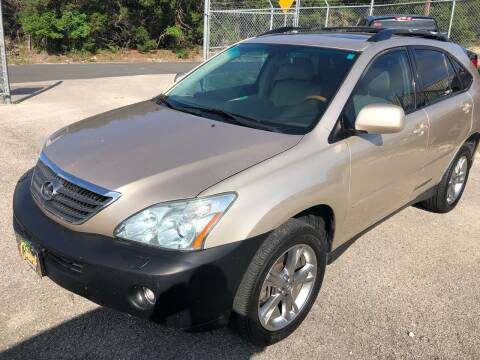 2006 Lexus RX 400h for sale at Central Automotive in Kerrville TX