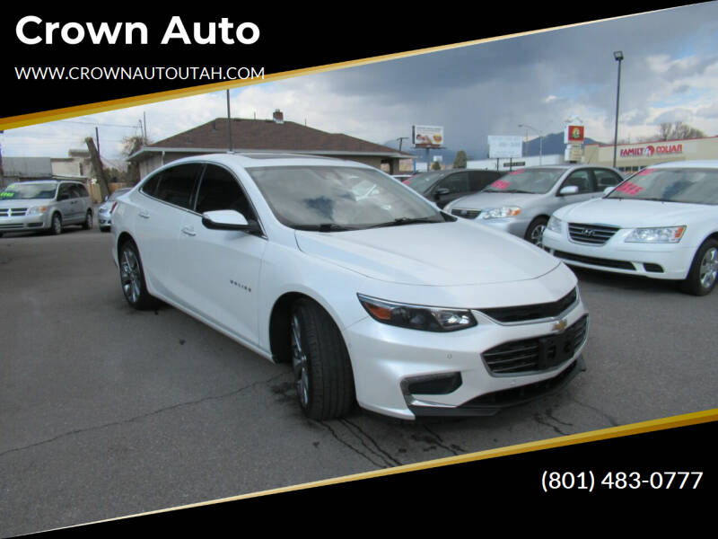 2016 Chevrolet Malibu for sale at Crown Auto in South Salt Lake City UT