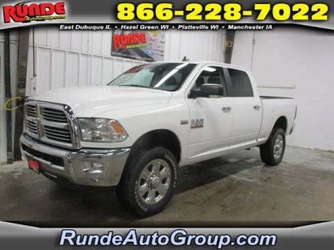 2017 RAM Ram Pickup 2500 for sale at Runde Chevrolet in East Dubuque IL