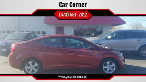 2016 Hyundai Elantra for sale at Car Corner in Mexico MO