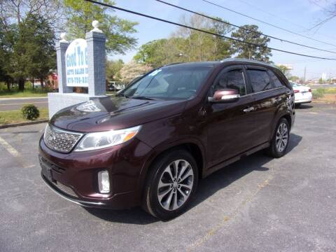 2015 Kia Sorento for sale at Good To Go Auto Sales in Mcdonough GA