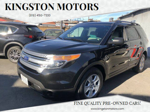 2013 Ford Explorer for sale at Kingston Motors in North Hollywood CA