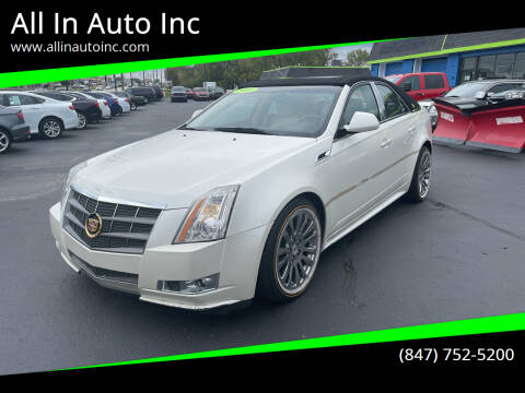 2011 Cadillac CTS for sale at All In Auto Inc in Palatine IL