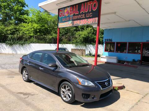2015 Nissan Sentra for sale at Global Auto Sales and Service in Nashville TN