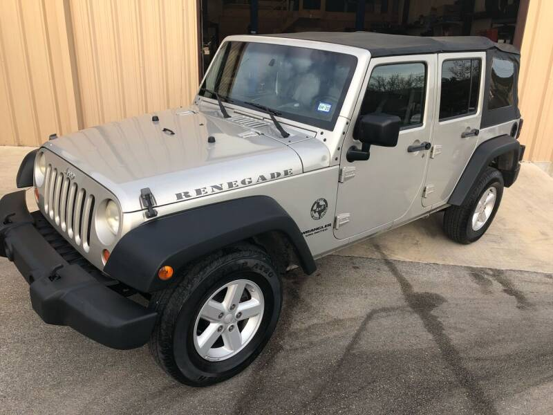 2007 Jeep Wrangler Unlimited for sale at Central Automotive in Kerrville TX