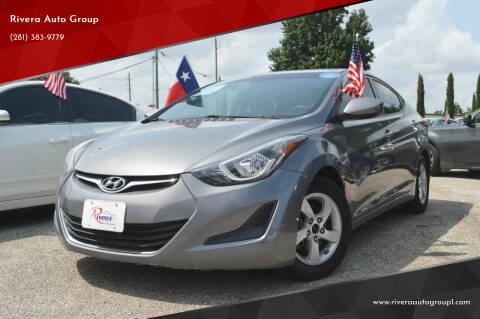 2014 Hyundai Elantra for sale at Rivera Auto Group in Spring TX