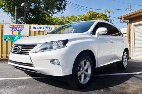 2015 Lexus RX 350 for sale at ALWAYSSOLD123 INC in Fort Lauderdale FL