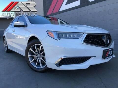 2020 Acura TLX for sale at Auto Republic Fullerton in Fullerton CA