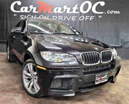 2012 BMW X6 M for sale at CarMart OC in Costa Mesa, Orange County CA