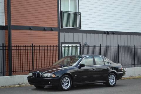 2003 BMW 5 Series for sale at Skyline Motors Auto Sales in Tacoma WA
