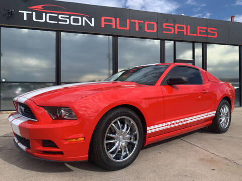 2013 Ford Mustang for sale at Tucson Auto Sales in Tucson AZ