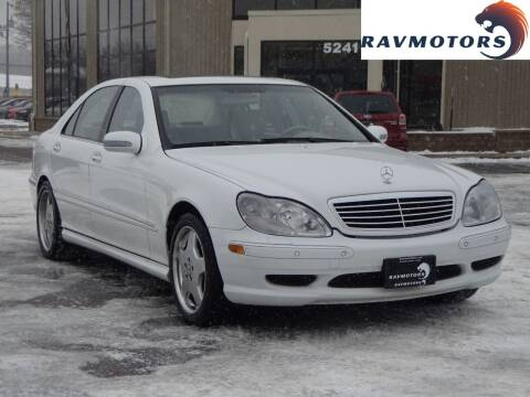 2001 Mercedes-Benz S-Class for sale at RAVMOTORS 2 in Crystal MN