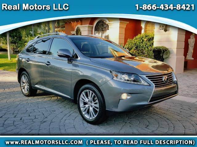 2014 Lexus RX 350 for sale at Real Motors LLC in Clearwater FL