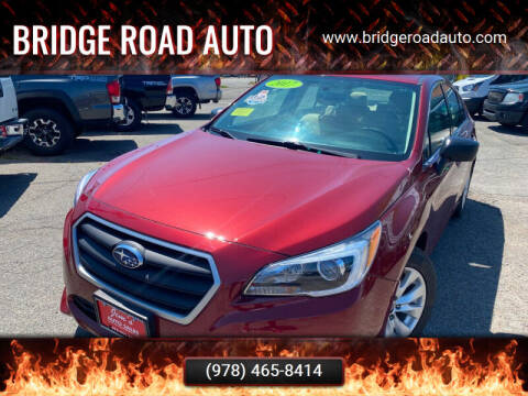2017 Subaru Legacy for sale at Bridge Road Auto in Salisbury MA