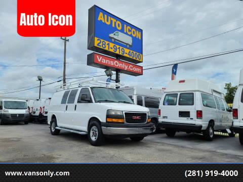 2014 GMC Savana Cargo for sale at Auto Icon in Houston TX