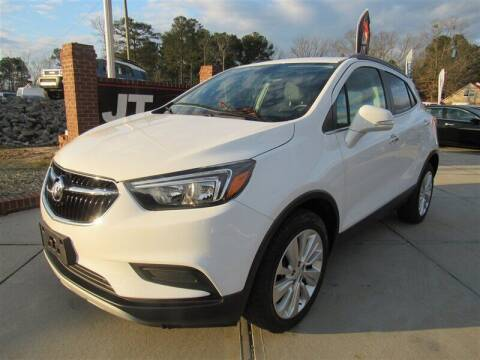 2017 Buick Encore for sale at J T Auto Group in Sanford NC