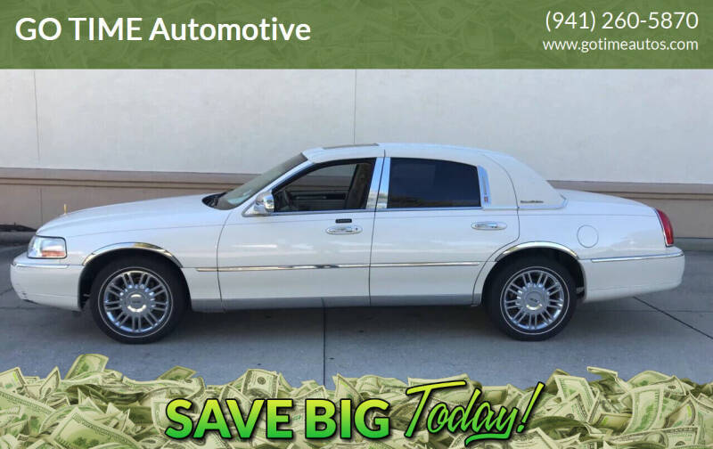 2006 Lincoln Town Car for sale at Go Time Automotive in Sarasota FL