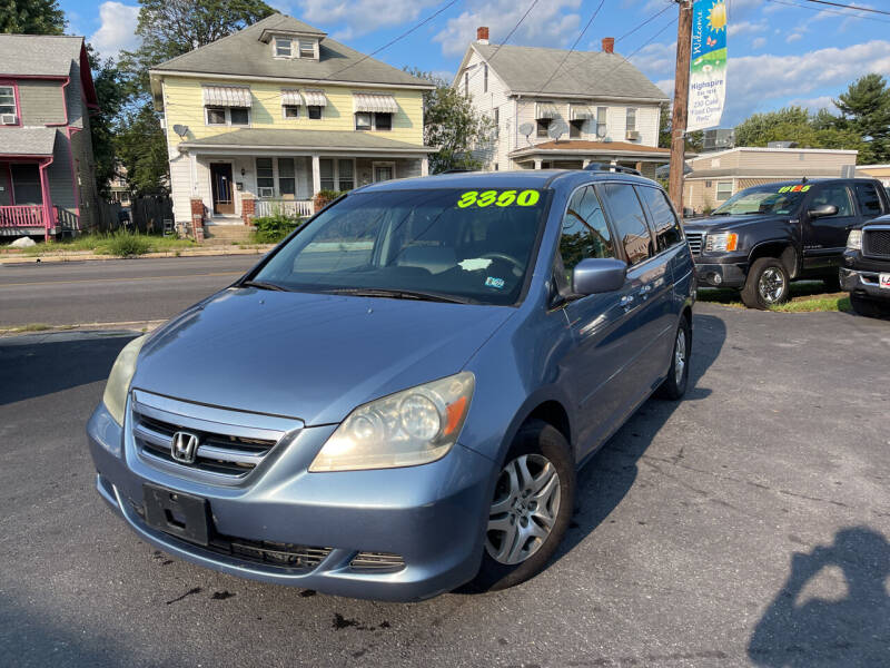 2006 Honda Odyssey for sale at Roy's Auto Sales in Harrisburg PA
