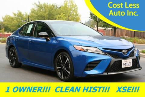 2018 Toyota Camry for sale at Cost Less Auto Inc. in Rocklin CA