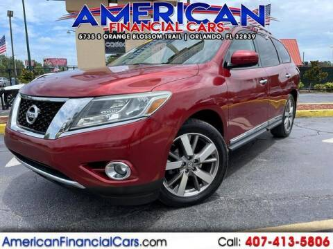 2013 Nissan Pathfinder for sale at American Financial Cars in Orlando FL