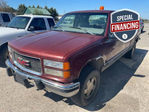 1998 GMC Sierra 1500 for sale at Strait-A-Way Auto Sales LLC in Gaylord MI