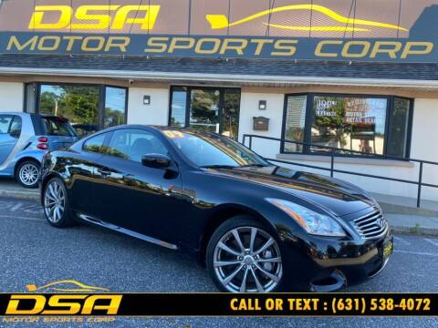 2009 Infiniti G37 Coupe for sale at DSA Motor Sports Corp in Commack NY