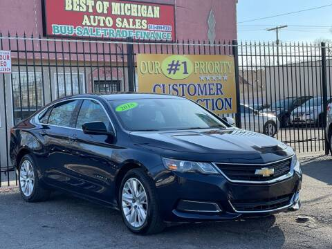 2018 Chevrolet Impala for sale at Best of Michigan Auto Sales in Detroit MI