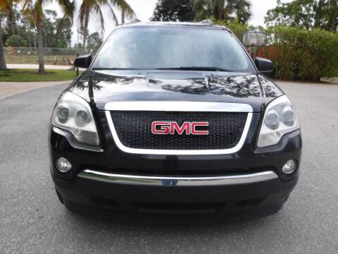 2011 GMC Acadia for sale at Seven Mile Motors, Inc. in Naples FL