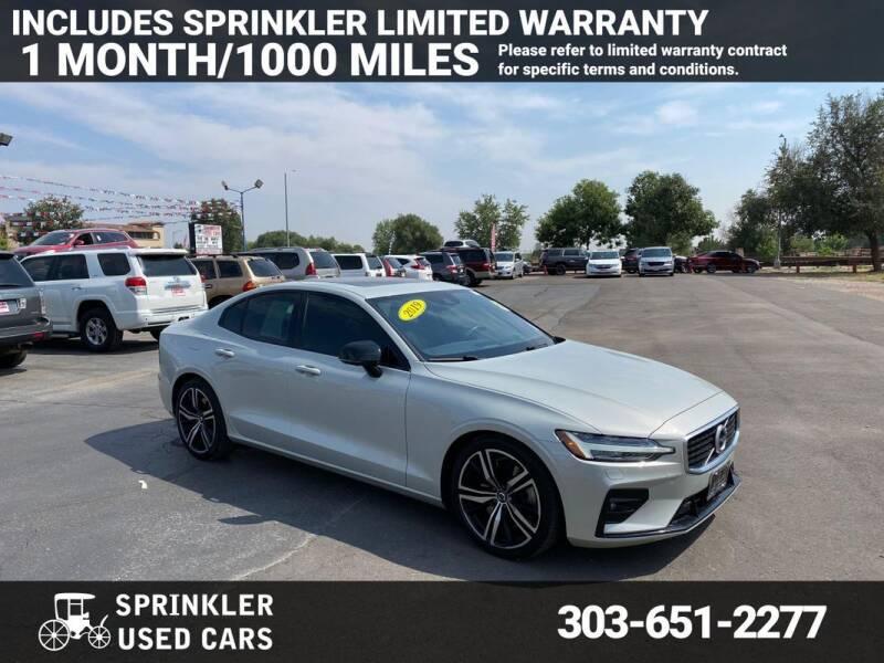 2019 Volvo S60 for sale at Sprinkler Used Cars in Longmont CO