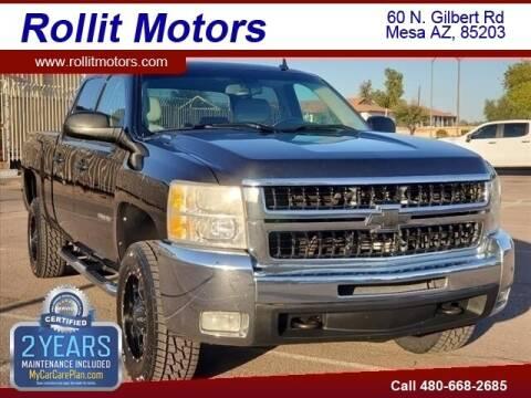 2010 Chevrolet Silverado 2500HD for sale at Rollit Motors in Mesa AZ