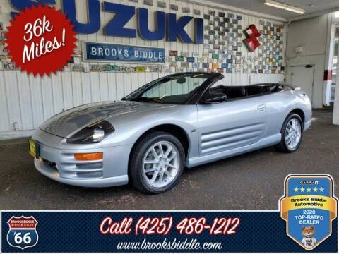 2001 Mitsubishi Eclipse Spyder for sale at BROOKS BIDDLE AUTOMOTIVE in Bothell WA