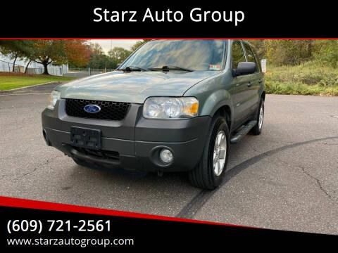 2006 Ford Escape for sale at Starz Auto Group in Delran NJ