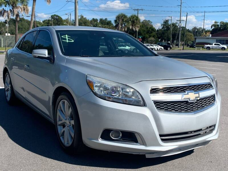 2013 Chevrolet Malibu for sale at Consumer Auto Credit in Tampa FL
