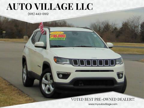 2018 Jeep Compass for sale at AUTO VILLAGE LLC in Lebanon TN