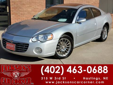 2004 Chrysler Sebring for sale at Jacksons Car Corner Inc in Hastings NE