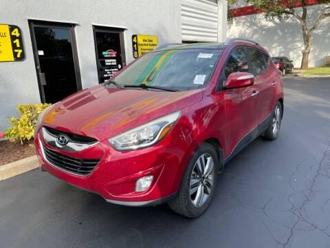2015 Hyundai Tucson for sale at FLORIDA CAR TRADE LLC in Davie FL