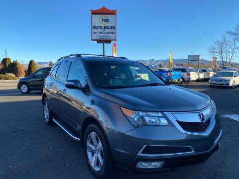 2010 Acura MDX for sale at TDI AUTO SALES in Boise ID