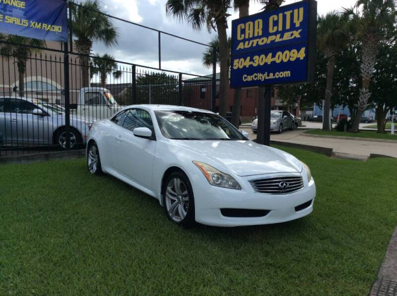 2009 Infiniti G37 Convertible for sale at Car City Autoplex in Metairie LA