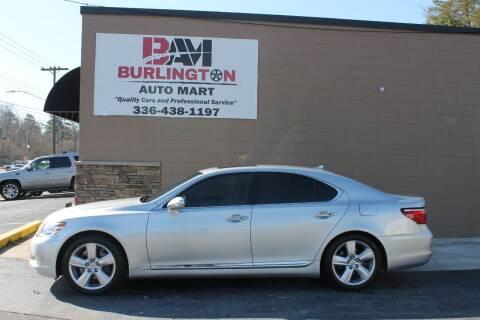 2011 Lexus LS 460 for sale at Burlington Auto Mart in Burlington NC