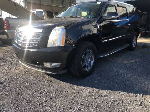 2007 Cadillac Escalade ESV for sale at DOUG'S USED CARS in East Freedom PA