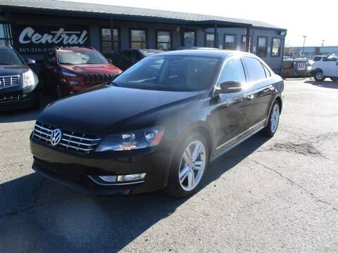 2013 Volkswagen Passat for sale at Central Auto in South Salt Lake UT